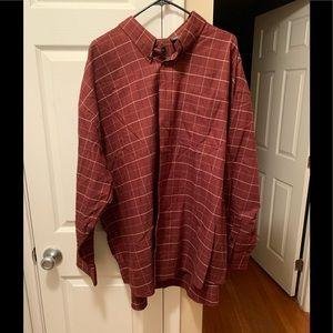 Van Heusen 3XL long sleeve shirt EUC